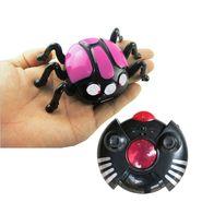 AdraxX RC Mini Wall Climber Beetle Toy - Pink