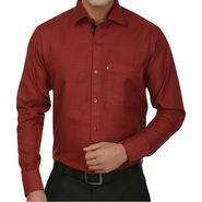 Fizzaro Regular Fit Cotton Shirt For Men_Fzs101 - Maroon