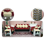 45 Pcs Royal Velvet Complete Living Room Combo - Pick Any 1