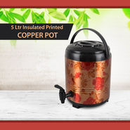 5 Ltr Copper Insulated Printed Dispenser