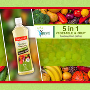 5 in 1 Veg & Fruit Sanitising Wash (500ml)