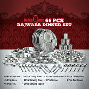 66 Pcs Rajwara Dinner Set
