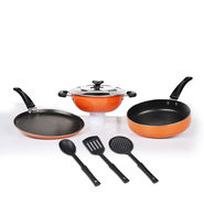 7 Pcs Premium Non-Stick Cookware Set
