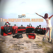 7 Pcs Complete Travel Solution