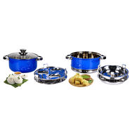 7 Pcs Induction Based Multi-Purpose Steamer