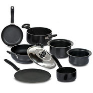 7 Pcs Non-stick + Hard Anodized Cookware Set