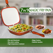 7 in 1 Magic Fry Pan