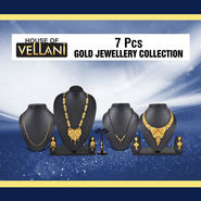 7 Pcs Gold Jewellery Collection