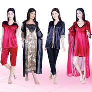 8 Pcs Mix and Match Nightwear Set - New