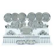81 Pcs Stainless Steel Designer Dinner Set