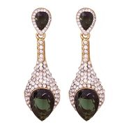 Vendee Fashion Stylish Earrings - Green