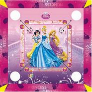 Princess Carrom Board Size - Small (17 x 17Inch)