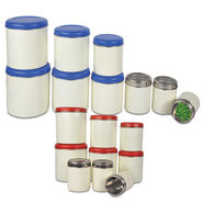 9 Pcs Stainless Steel Storage Set