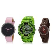 Pack of 3 Anno Dominii Men & Women Watches_Ad108