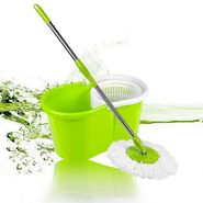 Anmol Green Cleaning Mop with Steel Rod