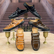 AR Gold Men's Leatherite Sandals (A3) - Pick Any 1