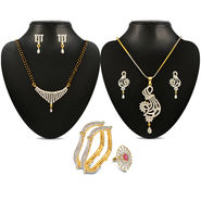 Aadvi 24k Gold Plated CZ Jewellery Collection