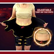 Adjustable Tummy And Thigh Shaper