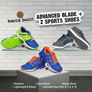 Advanced Blade + 2 Sports Shoes