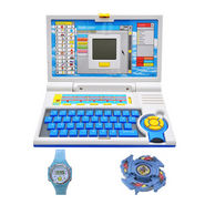 Combo of Advanced Kids 20 Activity Laptop + Beyblade & Watch