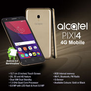 Alcatel PIXI4 4G Mobile