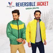 American Indigo Reversible Jacket - Green (RNJT8)