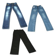 American Indigo Set of 2 Denims + 1 Cargo for Boys