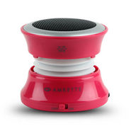 Amkette Trubeats Solo Portable Speaker - Red