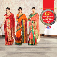 Amoli Banarasi Art Silk Saree - Pick Any One