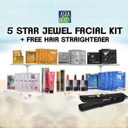 Astaberry 5 Star Jewel Facials + Free Hair Straightener
