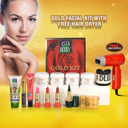 Astaberry Gold Facial Kit with Free Hair Dryer