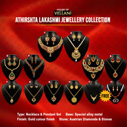 Athirshta Lakashmi Jewellery Collection