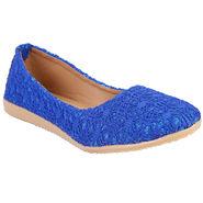 Azores Womens Blue Ballerina -Azf_11Blu