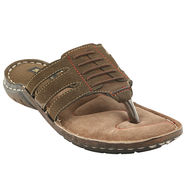 Bacca bucci Leather  Slipper Bb032 _Olive