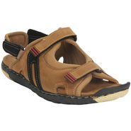 Bacca Bucci Suede Leather Tan  Sandals -Bbme6021D