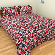 Mangalam Polycotton double Bedsheet  with 2 pillow covers-BD-18