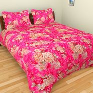 Mangalam Polycotton double Bedsheet  with 2 pillow covers-BD-39