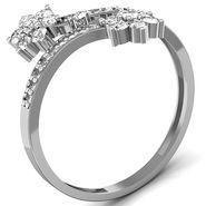 Avsar Real Gold & Swarovski Stone Gujarat Ring_B051wb