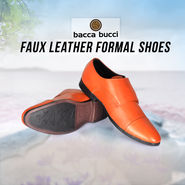 Bacca Bucci Faux Leather Formal Shoes