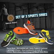 Bacca Bucci Set of 3 Sports Shoes