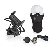 Bike Charger with GPS Mount & Mask
