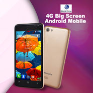 BlackZone 4G Big Screen Android Mobile