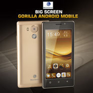 BlackZone Big Screen Gorilla+ Android Mobile