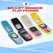 BlackZone Smart Sensor Flip Phone