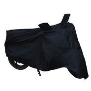 Bike Body Cover for Hero Splendor Plus - Black
