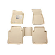 Branded 3D Car Bucket Tray Footmat For Honda Ivtech - Beige