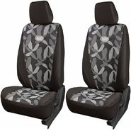 Branded Printed Car Seat Cover for Tata Sumo - Grey