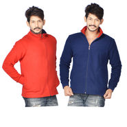 Buy 1 Get 1 American Indigo Fleece Jacket for Men