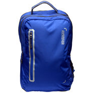 American Tourister Nylon Teal Blue Laptop Bag -ams29