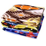 Pack of 3 Designer Printed Double Fleece Blanket-CA_1209